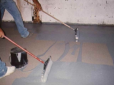 roll on epoxy floor - Paint The Floor