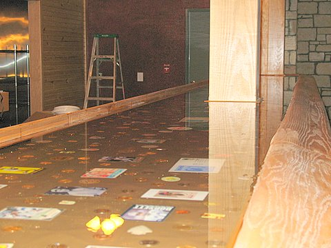Rated best pour on table bar top epoxy professional grade for Pour a floor
